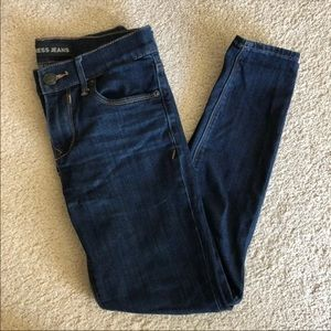 Express mid rise jean legging size 0S